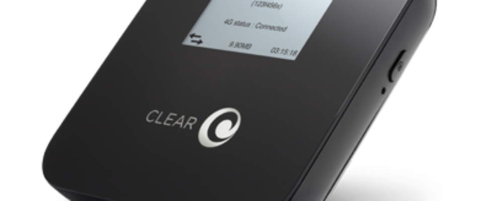 Clear Spot 4G Mobile WiFi Hotspot